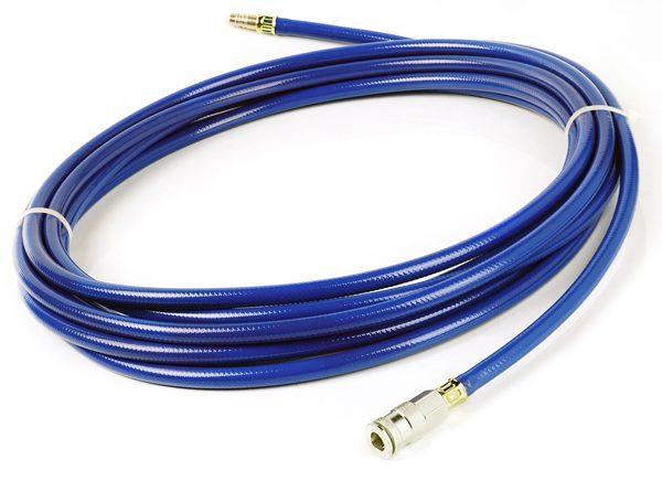 hefkussen slang blauw